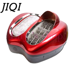JIQI Eelectric  Cleaner Intelligent Automatic Shoe Polisher Shoes Cleaning Machine Soles  Washer red 46cm x 42cm x 28cm