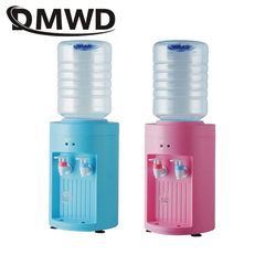 DMWD MINI warm hot Drink Machine 2.5L electric Cold Drink water Dispenser Desktop bottles tap faucet