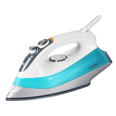 TECHSTABLE Electric Iron Portable Garment Steamer Brush For Ironing Clothes Ceramics Baseplate 220v