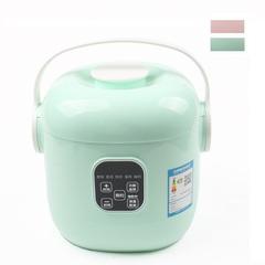 DMWD  Smart Mini Rice Cooker 5 Menus Yogurt Cake Maker Porridge Soup Pot  24H Appointment green 220v