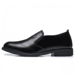 Men's Flats  Shoes Classic Business Dress Shoes 81610 black 38