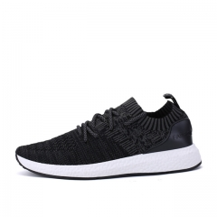 Breathable  Woven Shoes Men Fashion  coconut shoes Trainers For lovers Flats Casual Shoes 923 Black 39