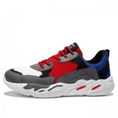 Lace-up Outdoor Athletic Sport Shoes New Men Sneakers Male Running Shoes Comfortable 5502 Gray 39