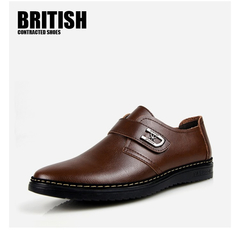 Summer new men's shoes business casual men's shoes men's shoes flat shoes brown 44