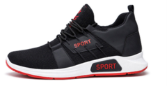 Sports style casual new personality breathable low to help breathable non-slip fashion men's shoes red 44