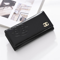 2019 New Hand wallet ladies long zipper fashion handbag purse large capacity mobile phone bag black as the descriptions
