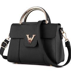 2019 new fashion trend female bag sweet lady atmosphere shoulder bag black as the descriptions
