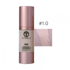 Foundation Liquid Makeup Base Concealer Face Primer  Waterproof Whitening Oil-Control BB Cream N8004 1#