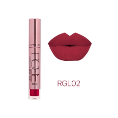 12colors Best Sale Cosmetics Makeup Long Lasting Waterproof Easy to Wear Matte Lipstick N2135 2#
