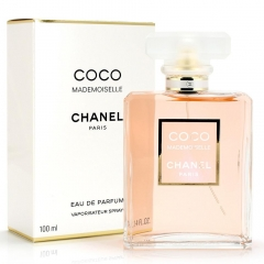 Coco Mademoiselle by Chanel 100ml Eau De Parfum Spray for Women 100ml