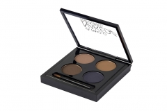 Waterproof Eye Shadow Eyebrow Powder Make Up Palette Women Beauty Cosmetic Eye Brow Makeup Kit Set 2#