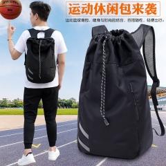 New men's backpack multi-functional outdoor waterproof basketball bag black 55*31*19