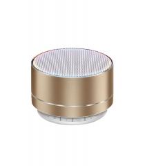 Bluetooth speaker, aluminum alloy, SD card, mini speaker, wireless LED light Bluetooth speaker