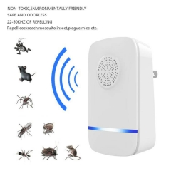 New Electronic Mouse Repellent Insect Repellent Insect -repellent Multifunctional Device white ul