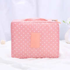 Multi-Functional Travel Toiletry Bag Portable And Portable Contains Cosmetic Bag Pink one   size