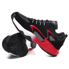 Big Size Shoes Autumn Winter Style Men's Sport Running Shoes Leisure Single Shoes red 39