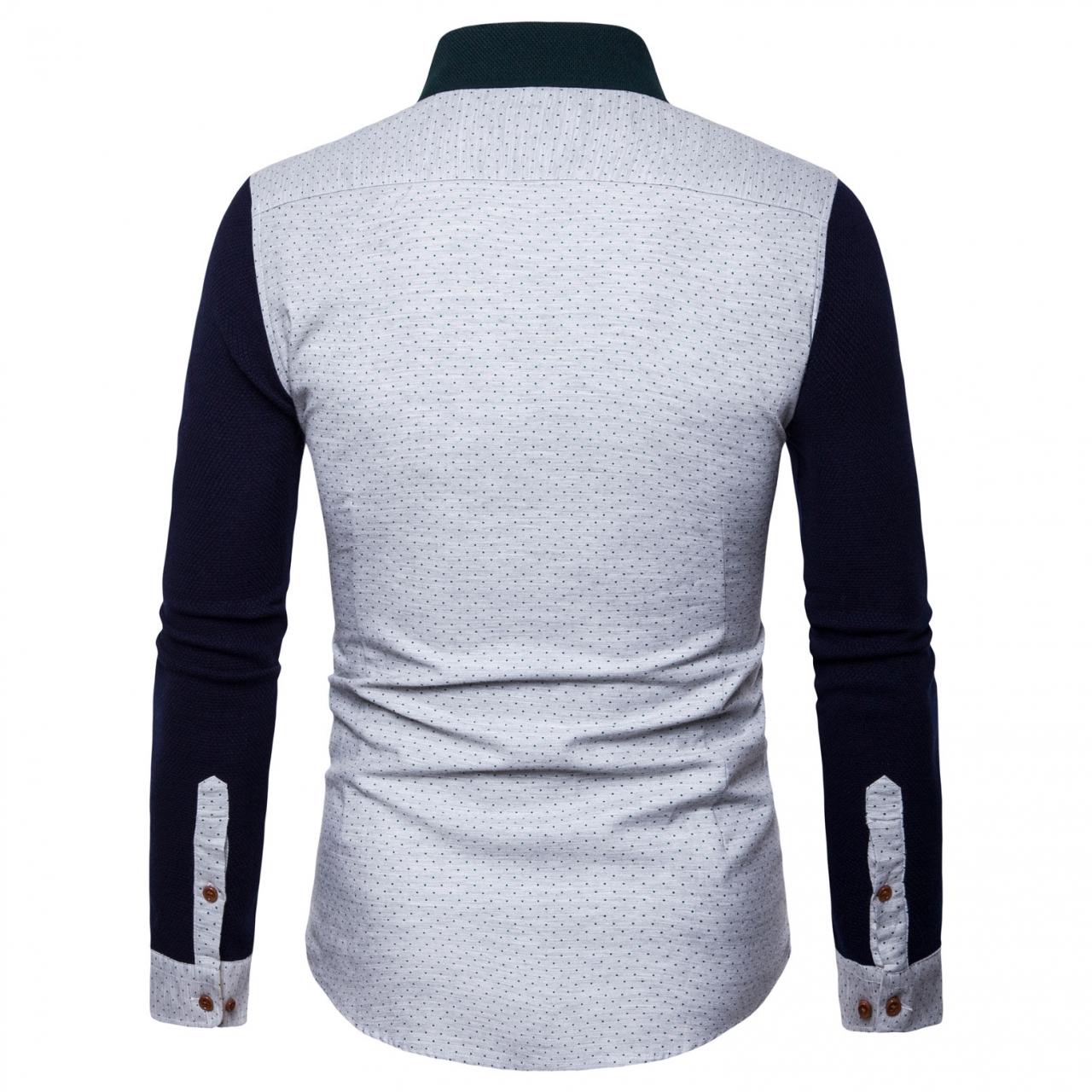 Kilimall  Autumn New style men s shirts pure cotton shirts fashion ... b3285168d4f2
