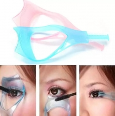 Eyelash Card Fashion Portable auxiliary makeup tool color random delivery