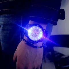 JIS Brand Fashion Wrist Watch Wristwatch Quartz Cool Men's NightLight Luminous Electronic watch white one size