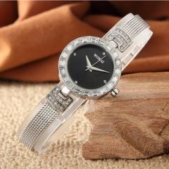 WOKAI Brand Fashion Wrist Watch Women Ladies Vintage Classic Exquisite Wristwatches  Luxury Design silver