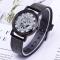 Fashion Wrist Watch Men Women Gear Design Simple Style Wristwatch Belt Watch black one size