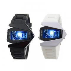 Fashion Wrist Watch Wristwatch Cool  Luminous Led  Men Women Couples Sports Electronic Watches black one size