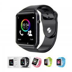 SL A1 Smart Watches SIM/TF Bluetooth Sport Pedometer WristWatch withCamera For Android Phone Infinix black one size