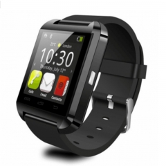 U8 Bluetooth Smart Watch Sport Wristwatch Smartwatch IOS Android iPhone Samsung Infinix Camera black one size