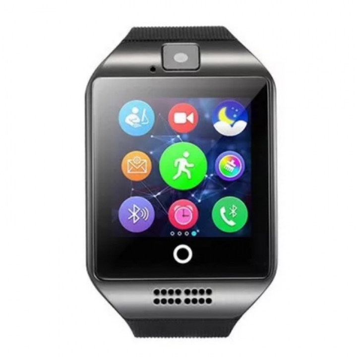 Bluetooth Smart Watch Sports WristWatch Smartwatch IOS Android iPhone Samsung Infinix Clock Camera black one size