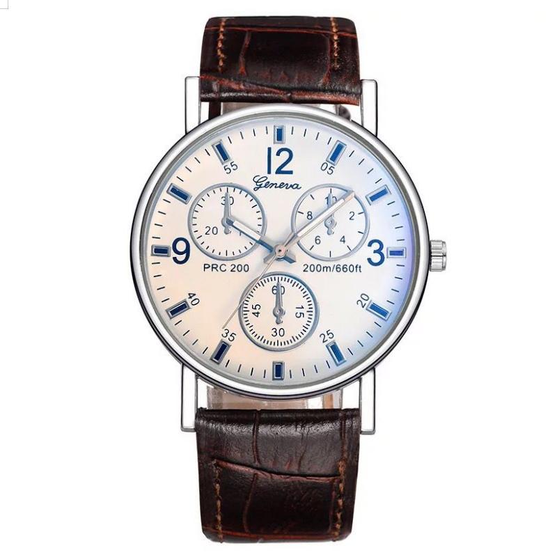 Men Women Fashion Wrist Watch Classic Casual Style Wristwatch Quartz Watch white one size 25
