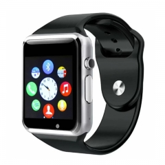 A1 Smart Watches SIM/TF Bluetooth Sport WristWatch Smartwatch with Camera Android Phone Infinix silver one size