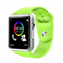 A1 Smart Watches SIM/TF Bluetooth Sport WristWatch Smartwatch with Camera Android Phone Infinix green one size
