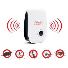 Ultrasonic Electric Pest Repeller Non-Toxic Safe Mosquito Killer Home Indoor Pest Control Solution