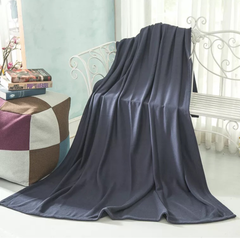 Blanket for Outdoor and Household use dark blue
