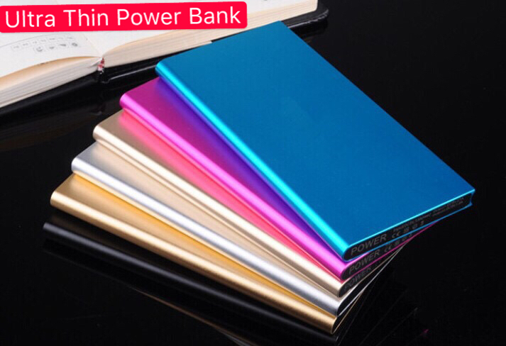 20000mAh Power Bank Battery Box Kit Universal USB External Backup Battery Charger 2 USB Ports blue 20000 mAh