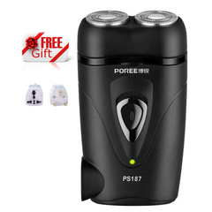 FLYCO POREE  Electric Shaver Cordless Rechargeable Safe Shaver for Beard Face Armpit Hair Shaving as picture 12.2*8.8*3.5 cm