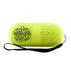 Bluetooth Wireless Speaker Portable Subwoofer Stereo Mini Musical Subwoofer Loud speaker green