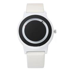 Fashion Wrist Watch Men Women Simple Unique Creative Concept Sports High Tec Wristwatch white one size