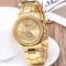 GENEVA Brand Fashion Wrist Watch Women Rhinestone Wristwatches Ladies Classic Luxury Quartz Watches gold one size
