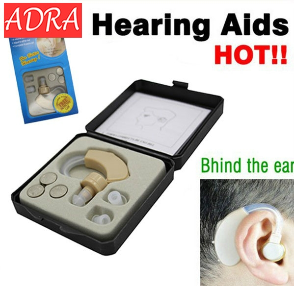 Hearing Aid mini Behind Ear High-Low Tone and Convenient Hearing Aid Aids Best Sound Voice Amplifier