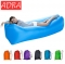 Outdoor Inflatable Lounger & Pool Chair, Hangout Sofa & Inflatable Couch for Bedroom Air Sofa Chair orange