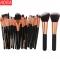 ADRA 22pcs Fashion Ladies Cosmetic Makeup Brush Beauty Tools Blusher Eye Shadow Brushes Set Black