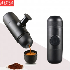 ADRA Manual Coffee Maker Black Hand Pressure Portable Espresso Machine Black One Size