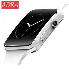 ADRA Smart Watch X6 Smartwatch sport watch For iPhone Android Phone With Camera FM Support SIM Card white one size