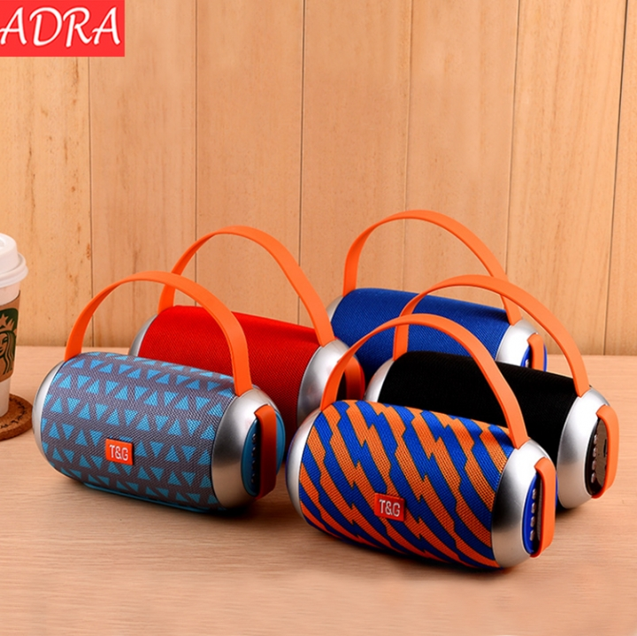 Wireless Bluetooth Speaker Creative Portable Audio Outdoor Portable Dual Diaphragm Card Speaker Red One size