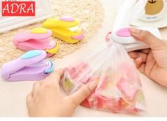 Portable Household Mini Sealer Snacks Plastic Bags Sealer Travel Hand Pressure Heat Sealing Machine Random