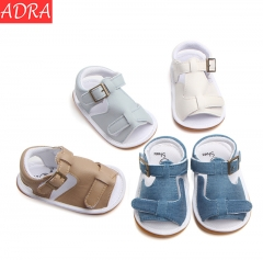 ADRA Soft Non-slip Baby Toddler Shoes Casual Sandals Baby Shoes White 11cm