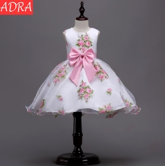 ADRA Dresses For Girls Rose Prints For Children Princess dresses As Pictures 100cm