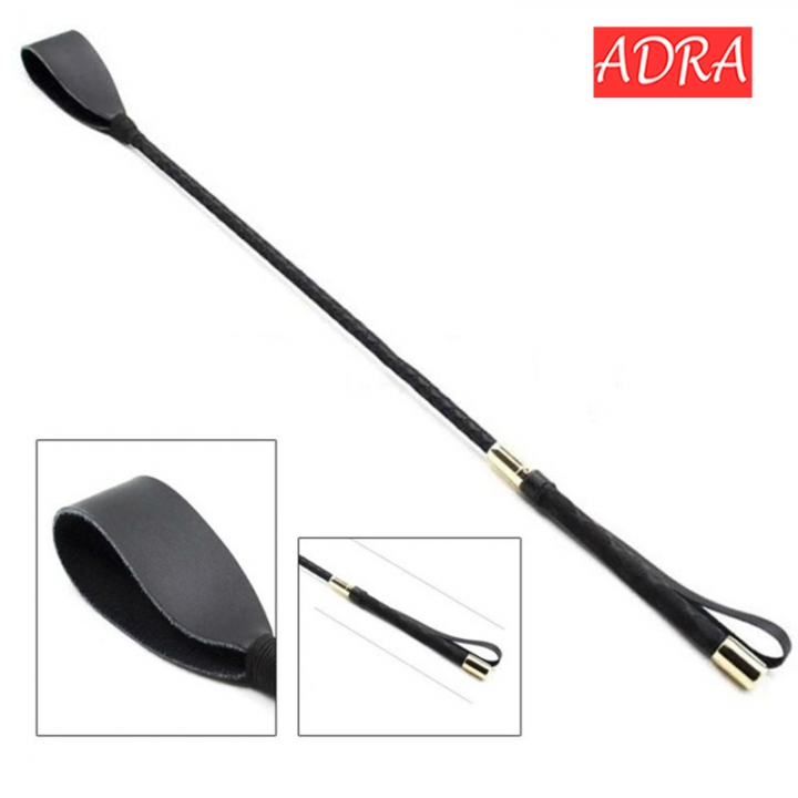 Horse Whip Sex Spanking Pu Leather whip With Sword Handle Lash Fetish Flogger Sex Toys For Couples as picture 30cm