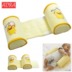 Cotton Anti Roll Pillow Baby Toddler Safe Cartoon Sleep Head Positioner Anti-rollover Baby Pillow as picture one size